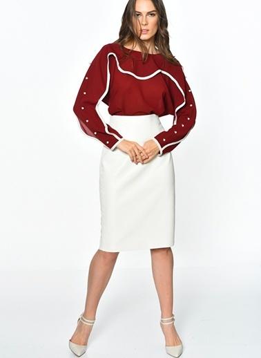 Jovonna Bluz Kırmızı